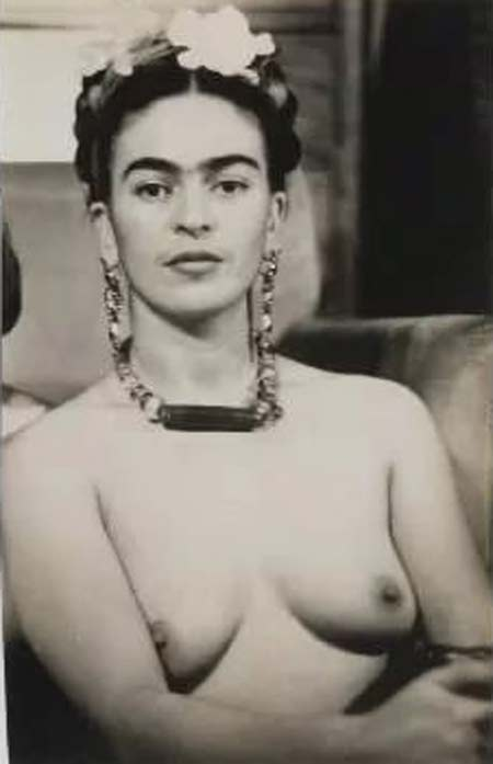 Фрида Кало топлес