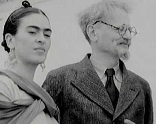 Фрида Кало и Лев Троцкий