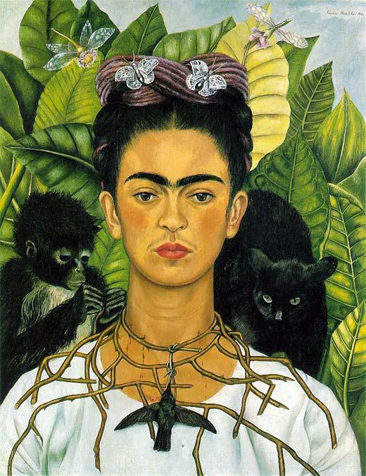 Фрида Кало автопортрет