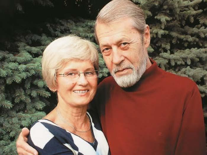 Георгий Мартынюк и жена Ниёле Прановна