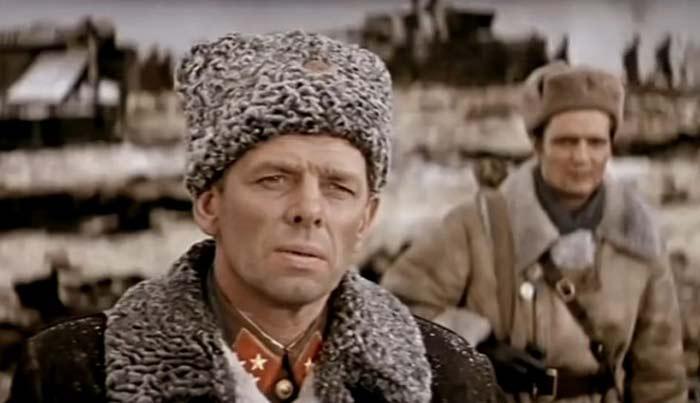 Георгий Жженов Горячий снег