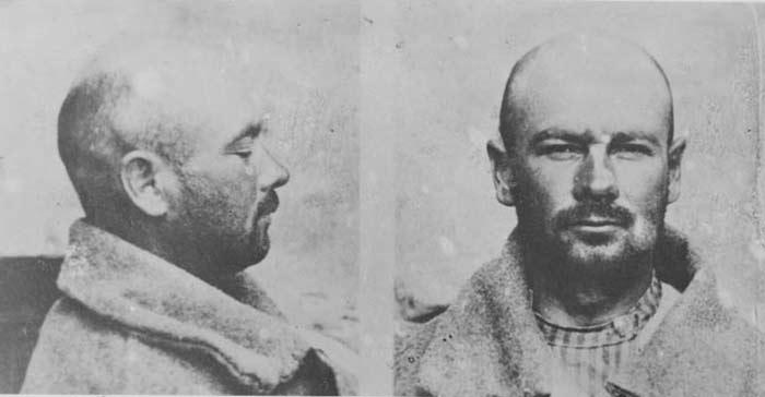 Григорий Котовский во время ареста