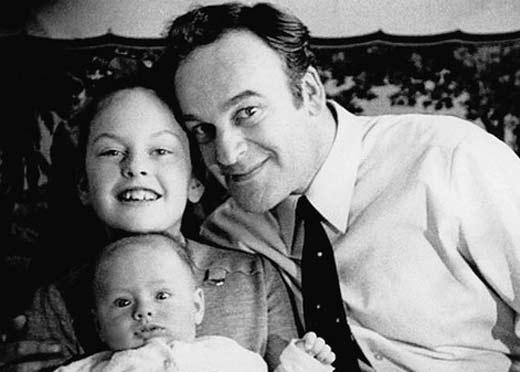 Игорь Кириллов с дочерью и сыном