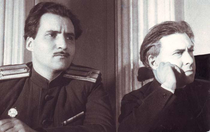 Илья Эренбург и Константин Симонов