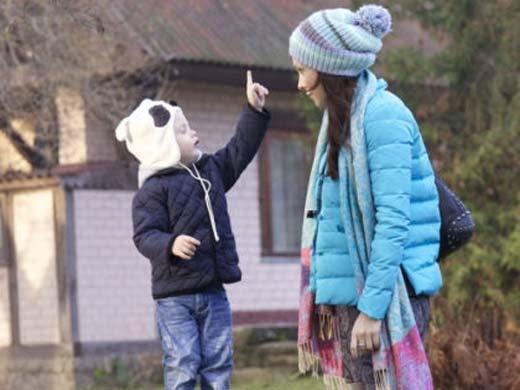 Инна Дымская с сыном