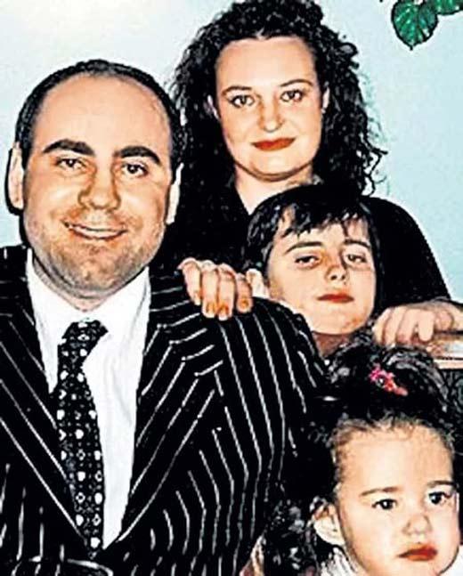 Иосиф Пригожин и первая жена Елена с детьми