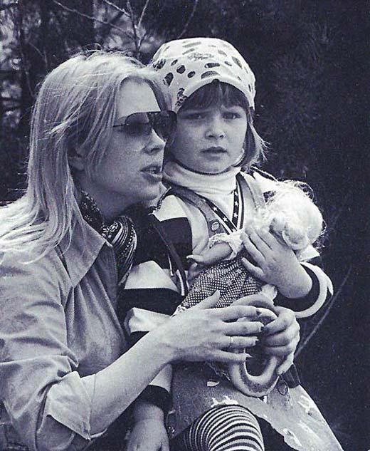 Ирина Азер и дочь Виктория