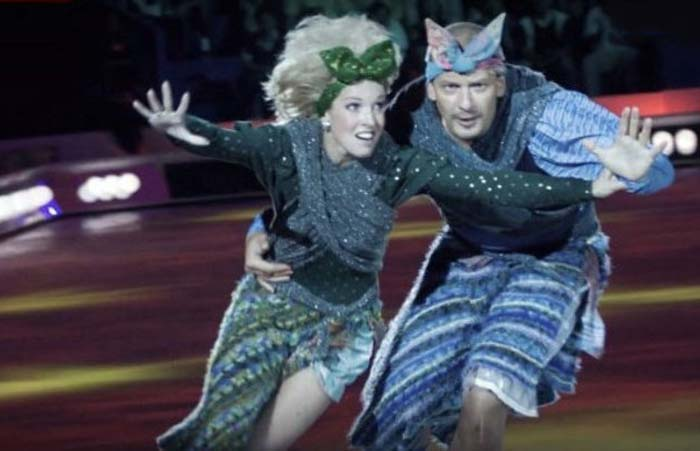 Ирина Лобачёва и Дмитрий Марьянов