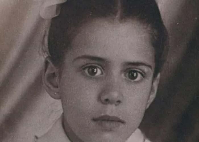 Ирина Роднина в детстве