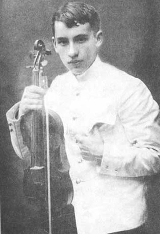 Исаак Дунаевский в юности