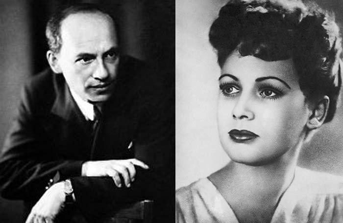 Исаак Дунаевский и Лидия Смирнова