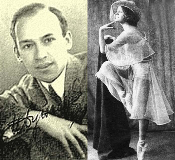 Исаак Дунаевский и Зинаида Судейкина