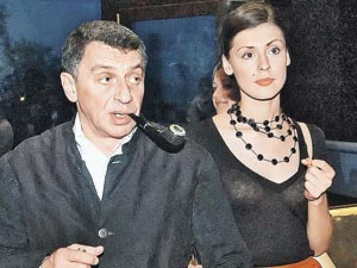 Иван Дыховичный и Ольга Дыховичная