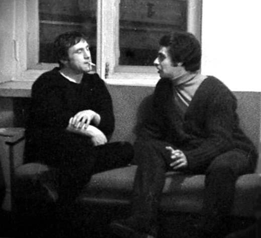 Иван Дыховичный и Владимир Высоцкий 2