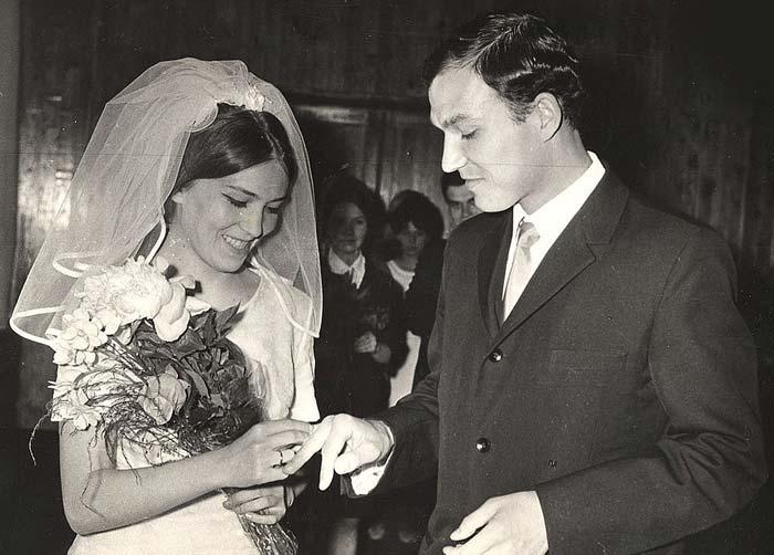Иван Мацкевич и жена Людмила