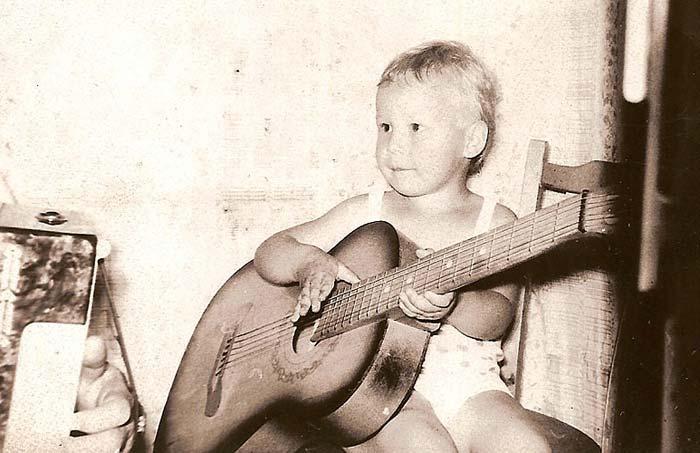 Иван Жагоров в детстве