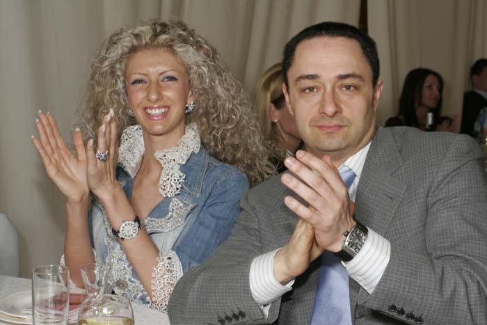 Изольда Ишханишвили и Дмитрий Десятников