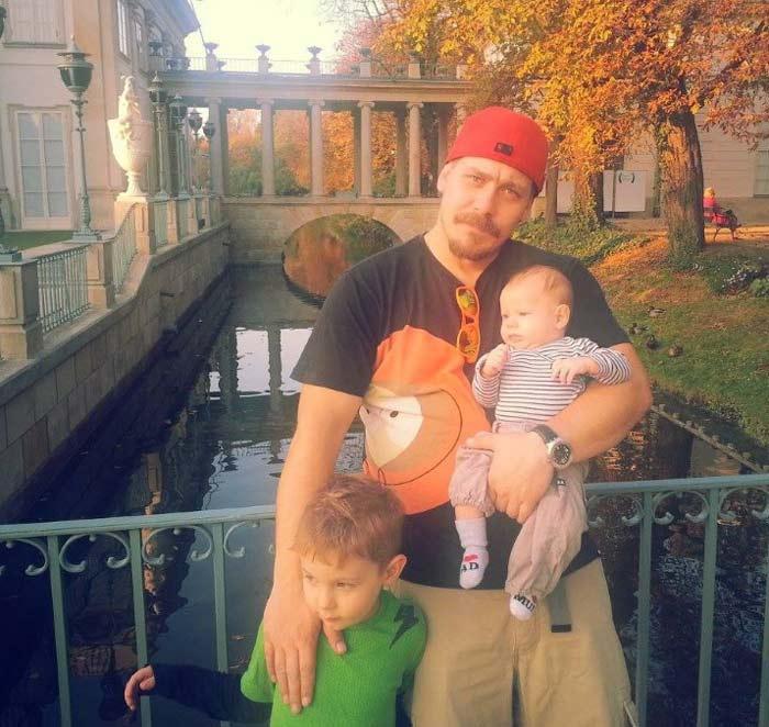 Ян Александрович-Краско сын Андрея Краско