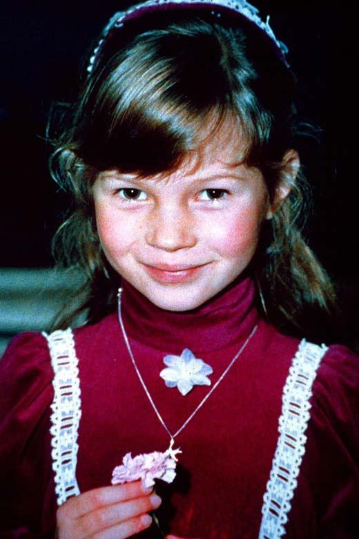 Кейт Мосс в детстве