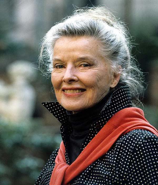 Кэтрин Хепбёрн в старости