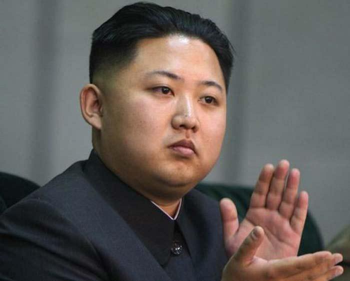Ким Чен Ын в молодости