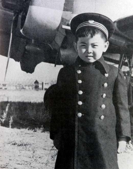 Ким Чен Ир в детстве