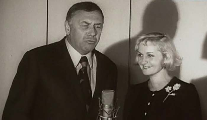 Клара Румянова и Анатолий Папанов
