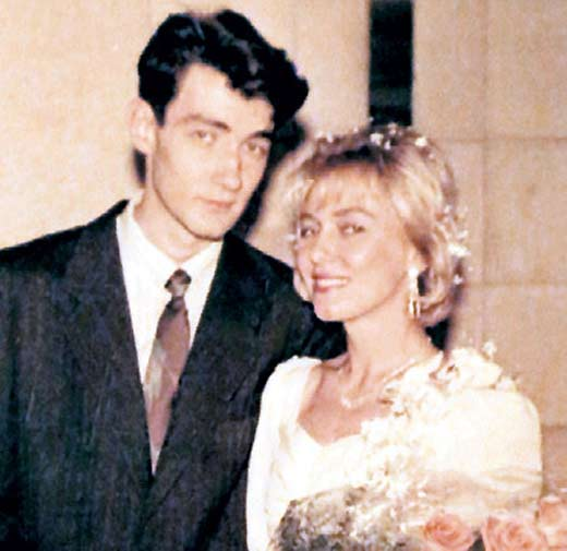 Константин Юшкевич и жена Ольга