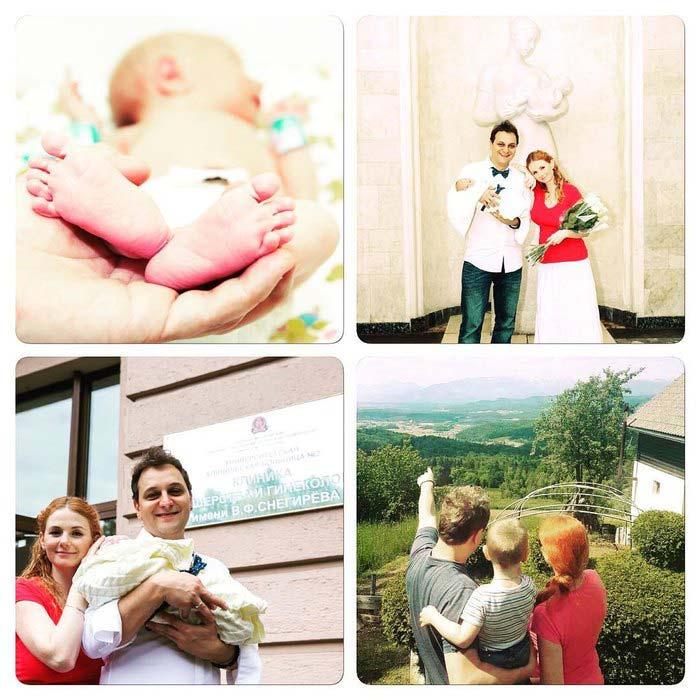 Лена Катина и муж Сашо Кузманович