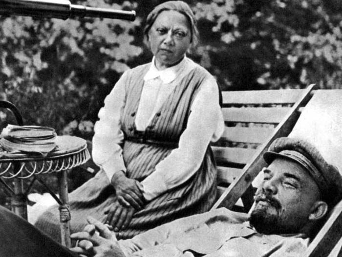 Владимир Ленин и Надежда Крупская 3