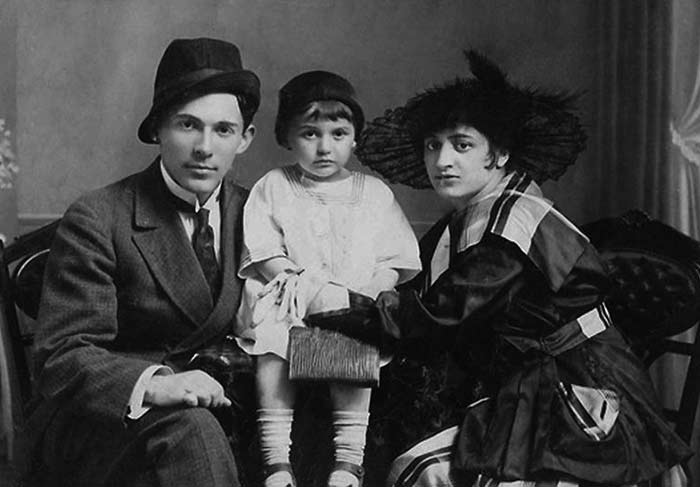 Леонид Утёсов и жена Елена