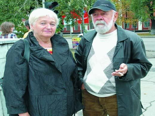 Лев Борисов и жена Мария Александровна
