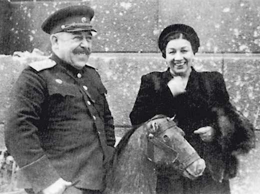 Лидия Русланова и Владимир Крюков 3
