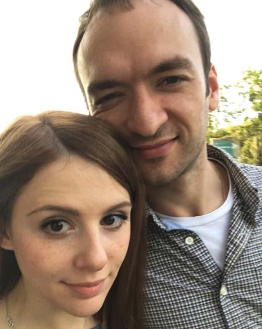 Лора Горбунова и муж Семен