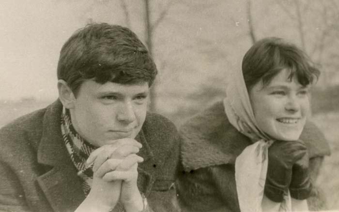 Людмила Гладунко и Борис Токарев