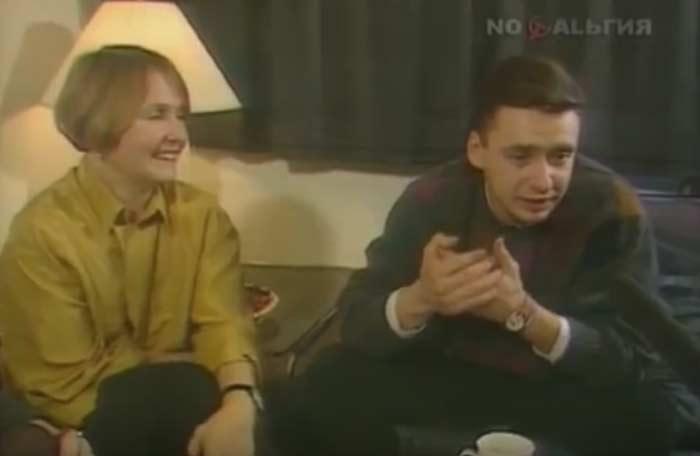 Людмила Крылова и сын Антон