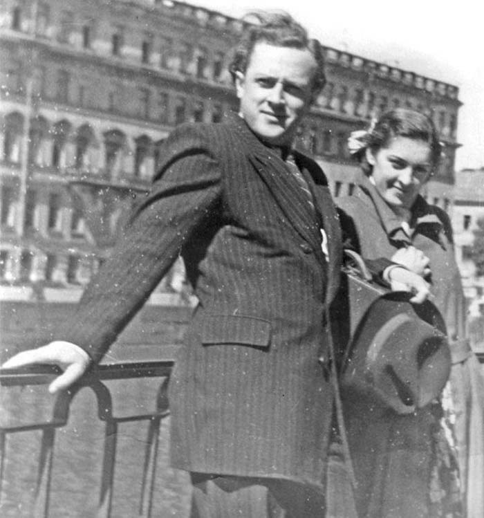 Людмила Шувалова и Владислав Стржельчик 2