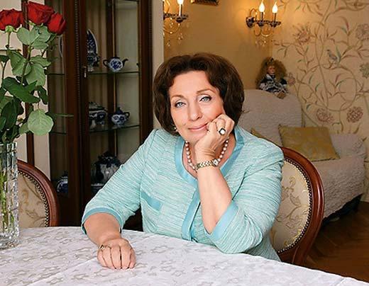 Людмила Лисина приемная дочь Татьяны Лиозновой
