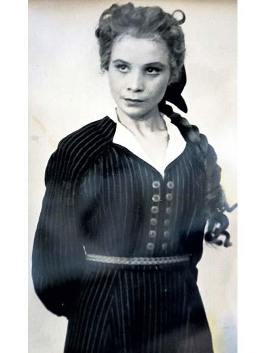 Мария Виноградова в молодости