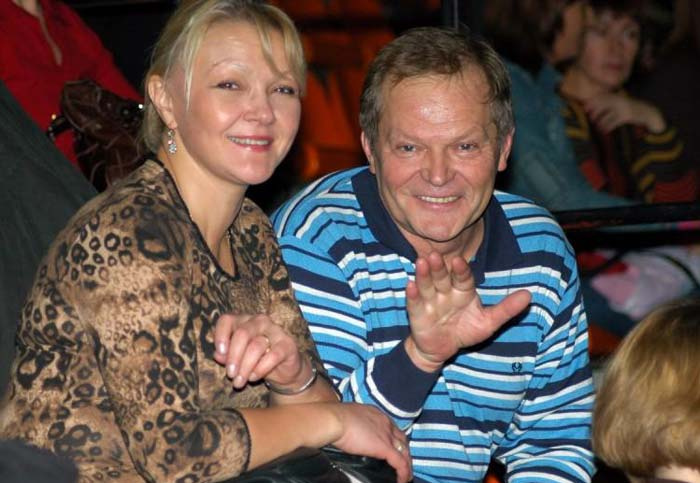 Марина Дюжева и муж Юрий Гейко 3