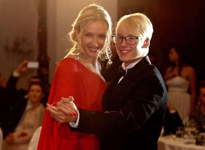 Марина Майко с сыном