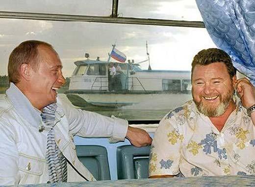 Михаил Евдокимов и Владимир Путин