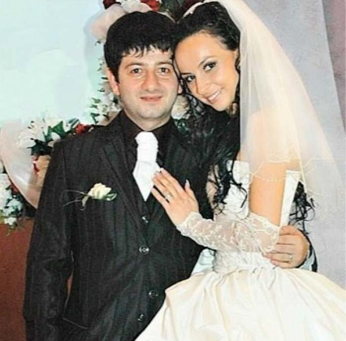 Михаил Галустян и жена Виктория