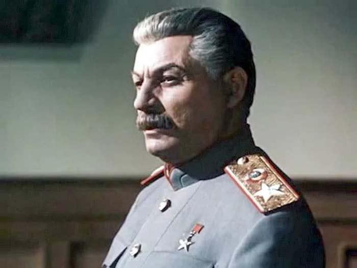 Михаил Геловани в роли Сталина
