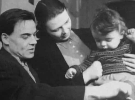Михаил Глузский и жена Екатерина Перегудова 3