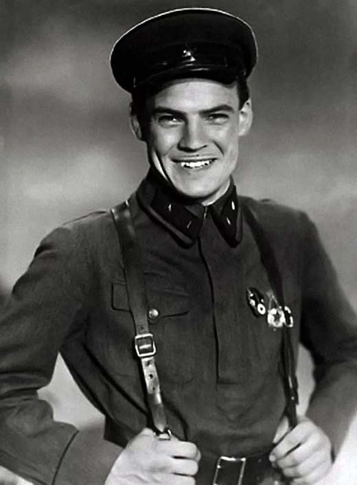 Михаил Глузский в молодости