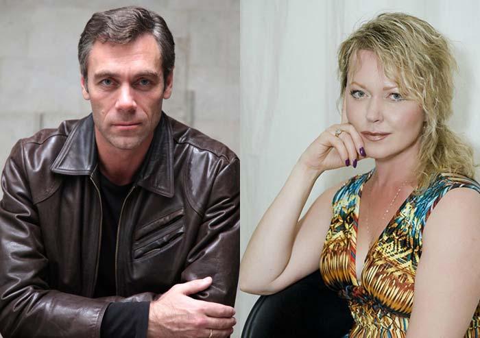 Михаил Хмуров и жена Елена