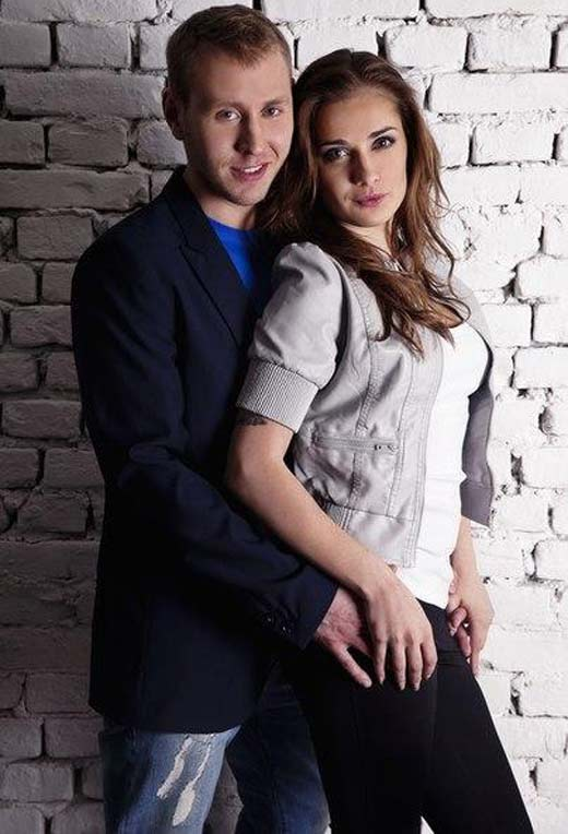 Михаил Тарабукин и Таня Антоник