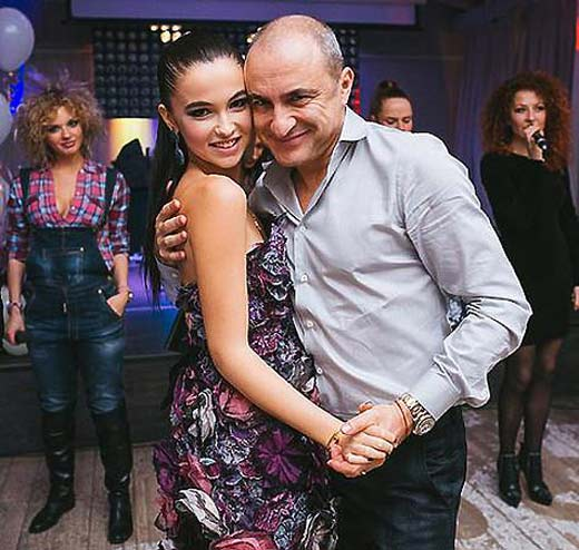 Михаил Турецкий и дочь Сарина