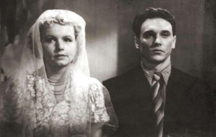 Муза Крепкогорская и Георгий Юматов